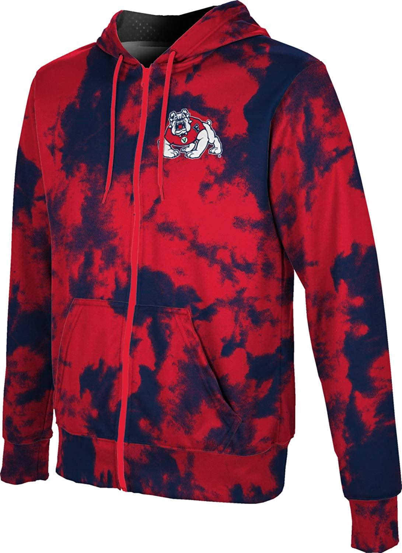 ProSphere Fresno State University Boys' Zipper Hoodie, School Spirit Sweatshirt (Grunge)