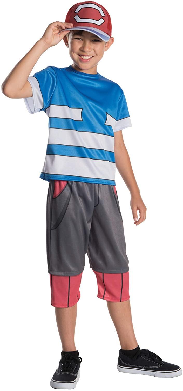 Rubie's Costume Pokemon Ash Deluxe Child Costume, Small