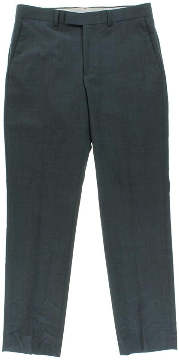 Kenneth Cole Mens Slim Fit New York Dress Pants Slacks