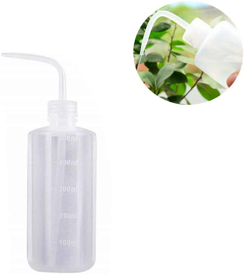 Safety Plastic Squeeze Bottle, 500ml Wash Bottles Watering Tool for Tattoo Lab Laboratory 16oz