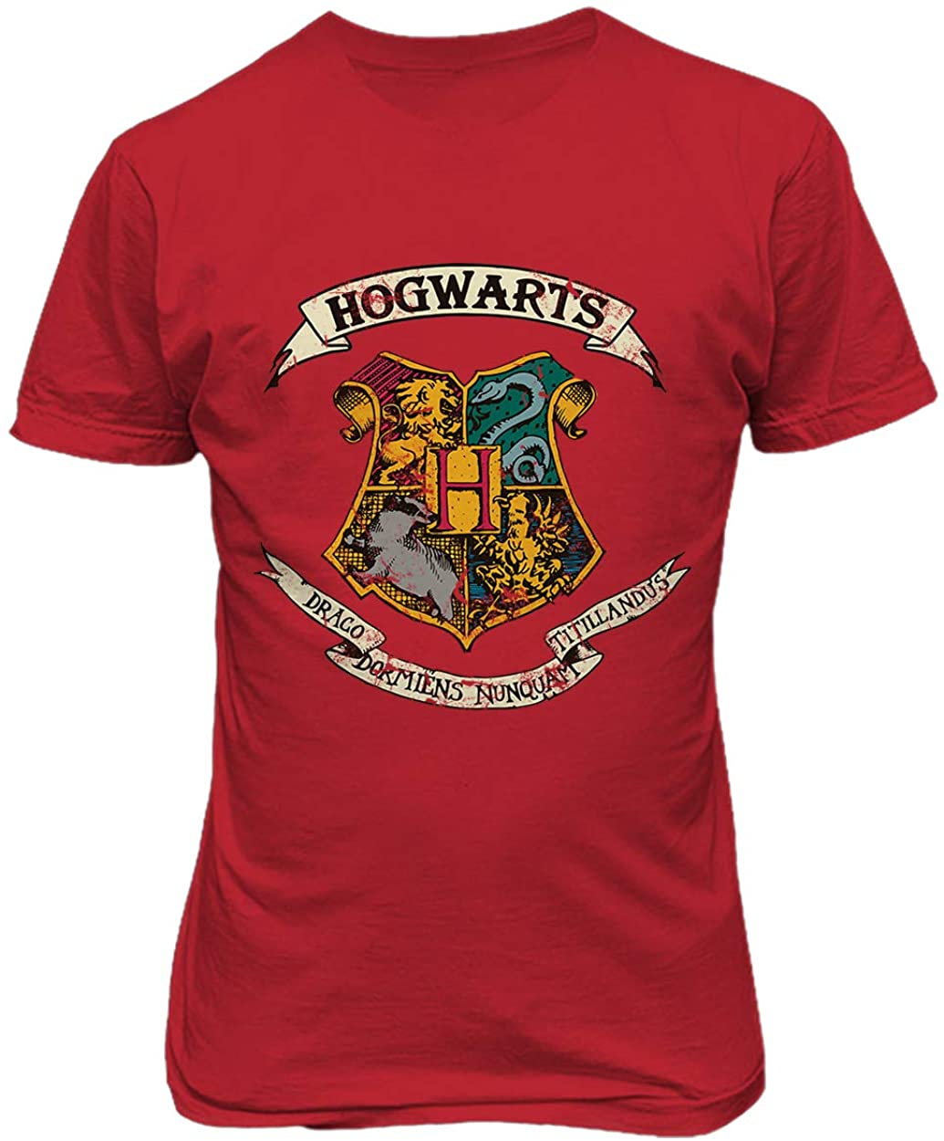 RIVEBELLA New Graphic Shirt Hogwarts Novelty Tee Harry Men's T-Shirt