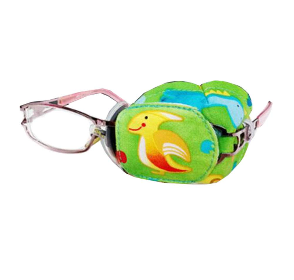 Correcting Amblyopia Eye Mask Child Stereo Cotton Eye Patch for Glasses(Cartoon #03)