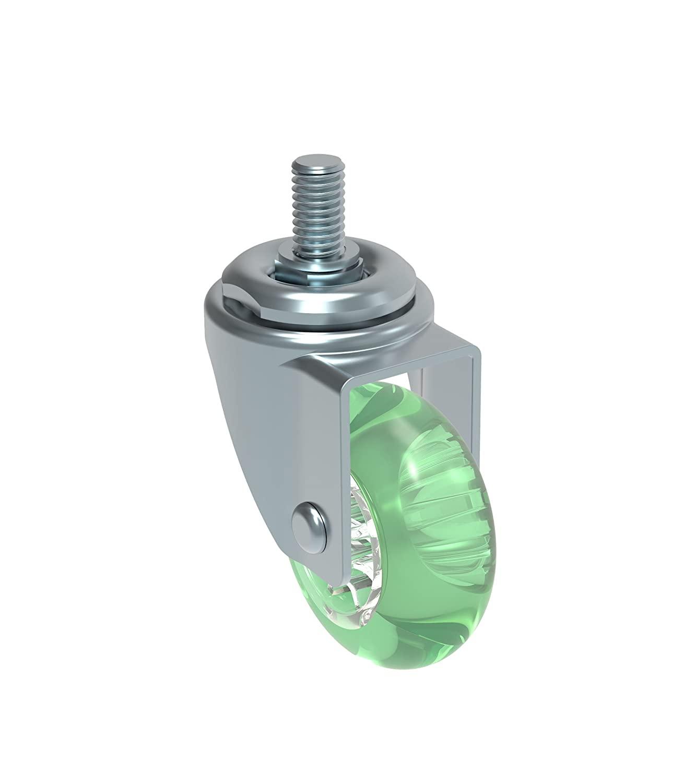 Schioppa L10 Series, GLEFD 310 Gel Green, Swivel Caster, 3