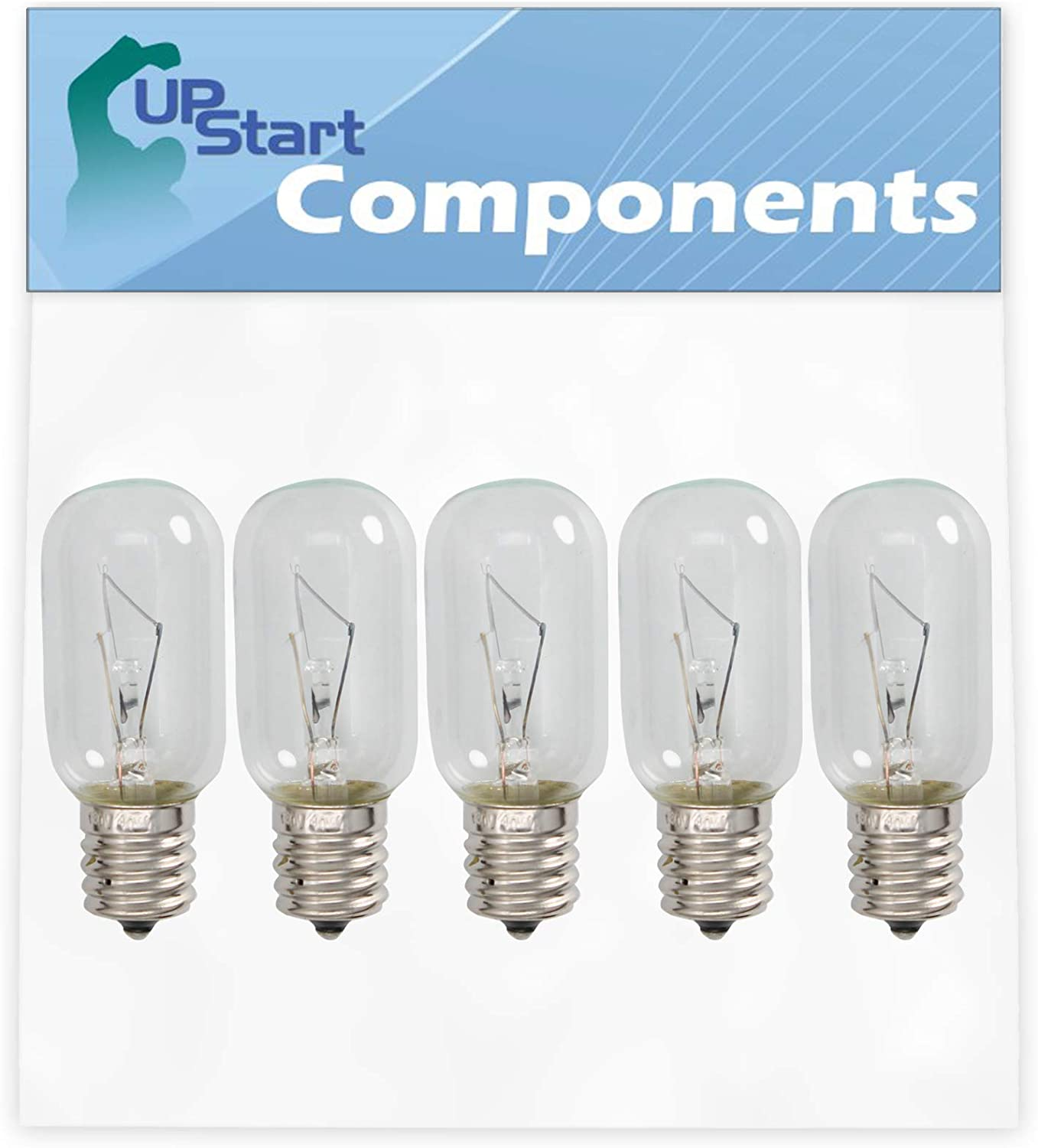 5-Pack 4713-001013 Microwave Light Bulb Replacement for Samsung SMH9151W/XAA-0000 Microwave - Compatible with Samsung 4713-001013 Light Bulb