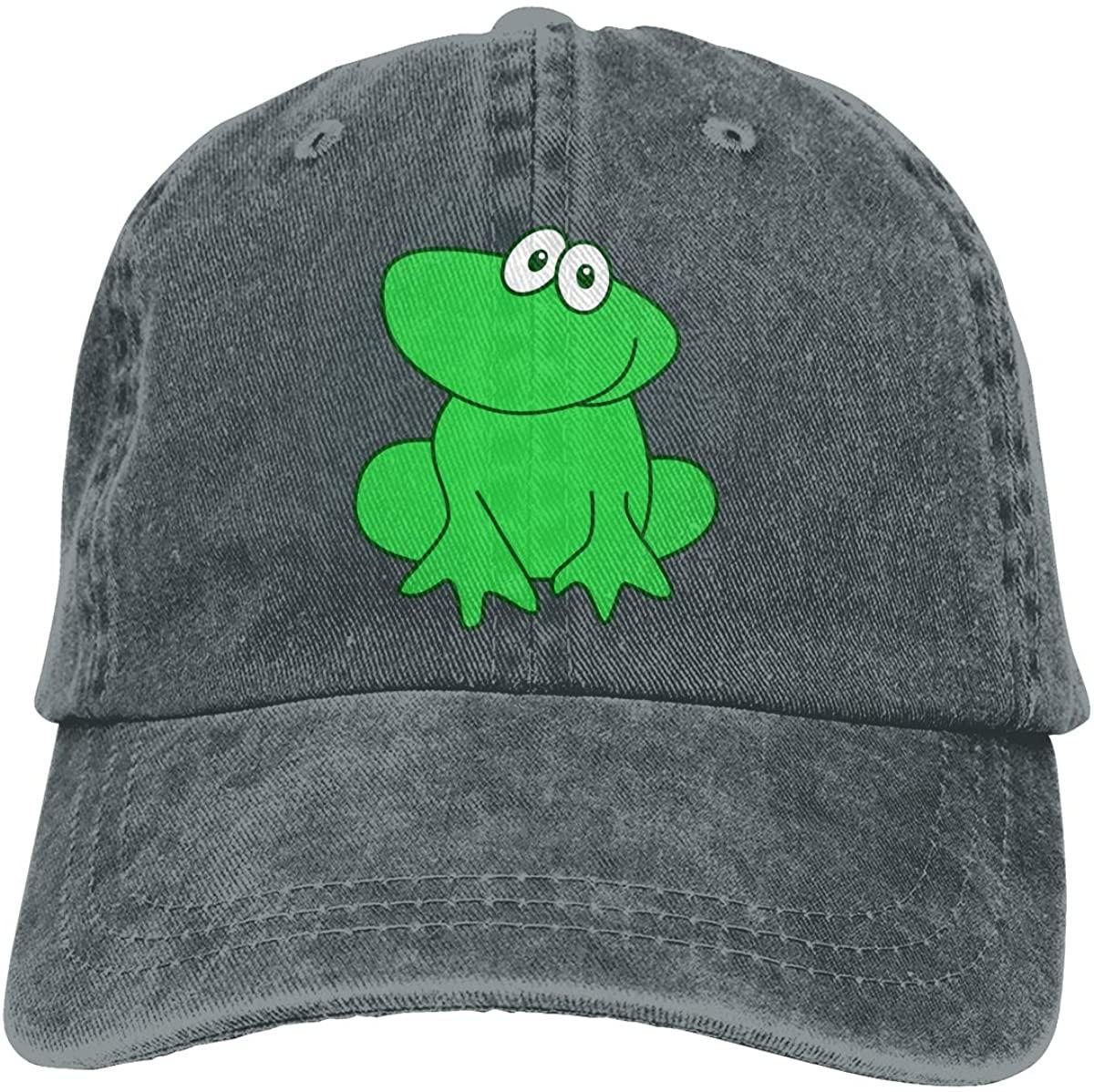 Little Frog Unisex Baseball Cap Cotton Cowboy Style Cap Sun Hat