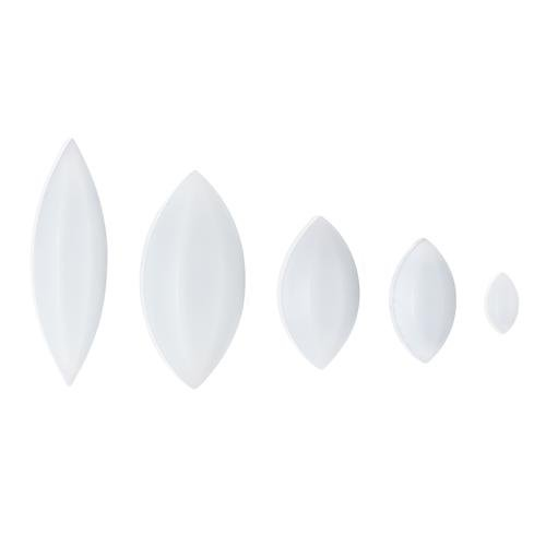 Bel-Art F37130-0114 Spin Elliptical Magnetic Stirring Bar, Teflon PTFE, 15.9mm Diameter, 31.8 mm Length, Teflon PTFE (Pack of 50)