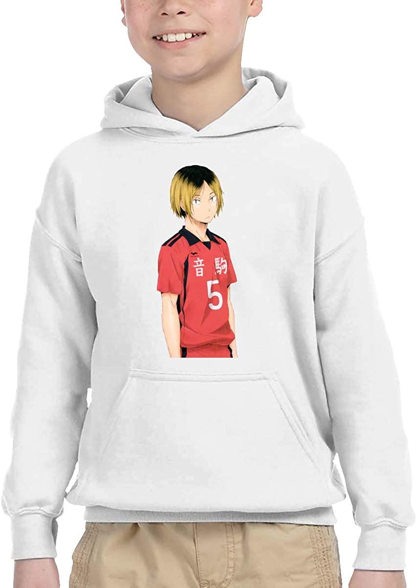 Dekeyue Haikyuu Kenma Anime Personality Design Children's Boys Girls Sweatshirt