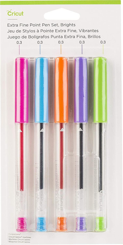 Cricut Extra Fine Point Pen Set, Brights