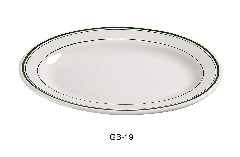 Yanco GB-19 Green Band Platter, 13.5