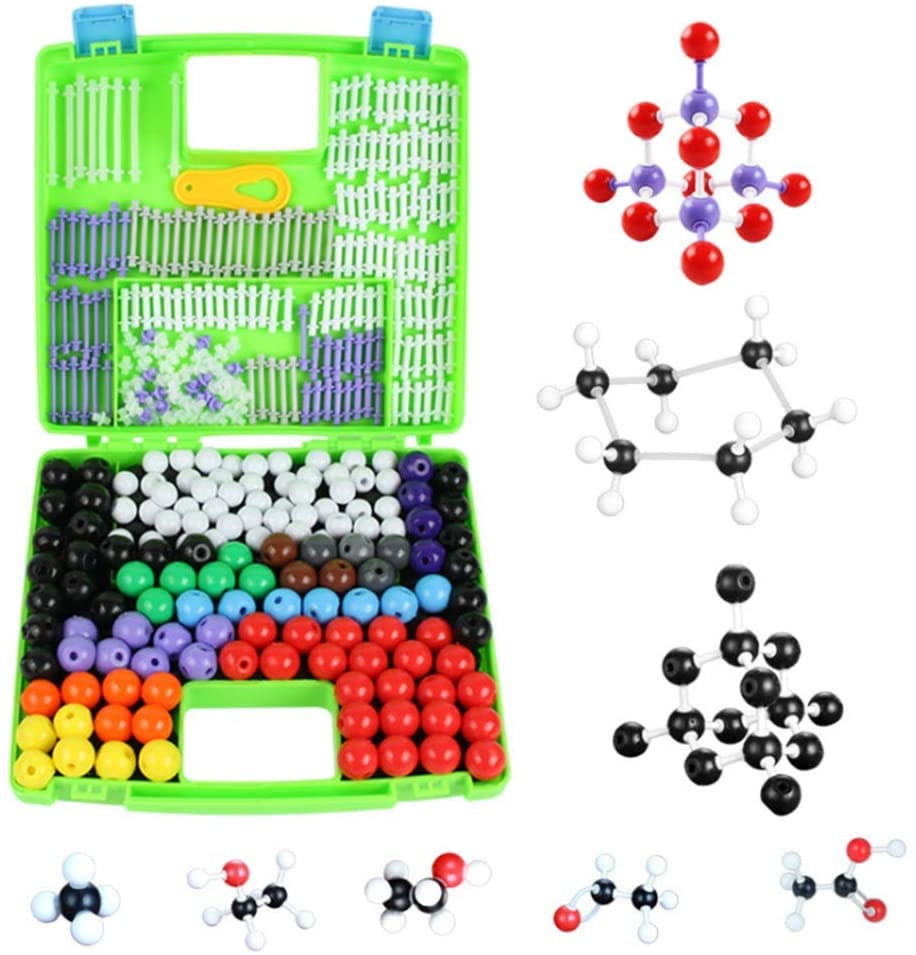 ZQDL Chemistry Molecular Model Kit (332 Pieces), for Organic and Inorganic Chemistry Learning Students Set