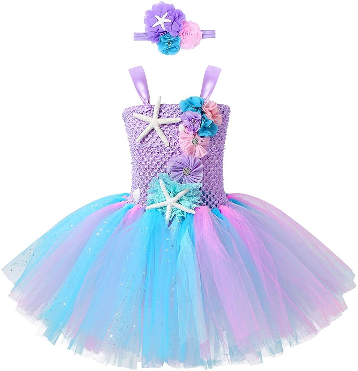 Agoky Kids Girls Halloween Clown Costume Party Dance Dress Role Play for Carnival Christmas Mardi Gras Fancy Dress