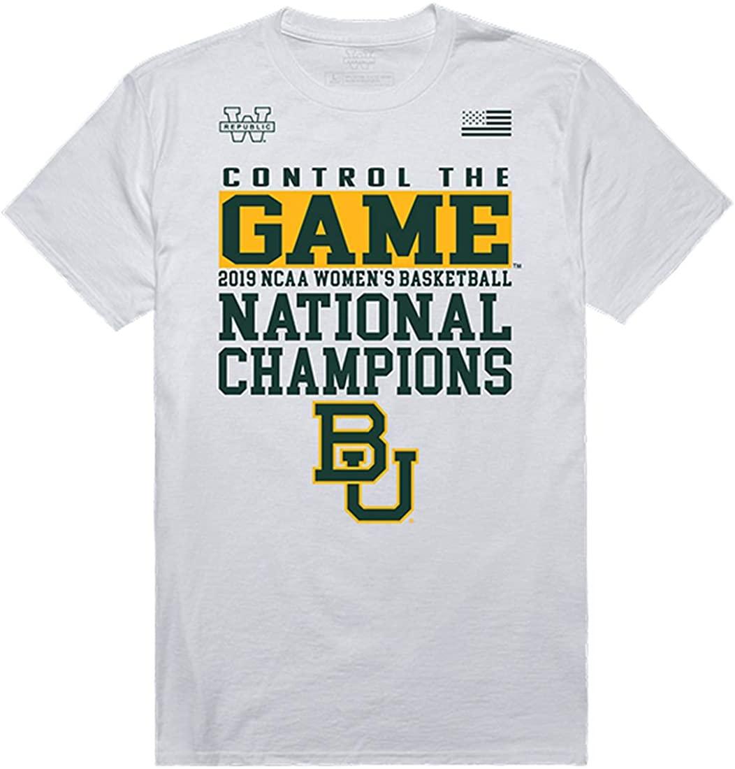 BU Baylor Bears NCAA Women's Basketball Champions T-Shirts Tees CTG Control The Game