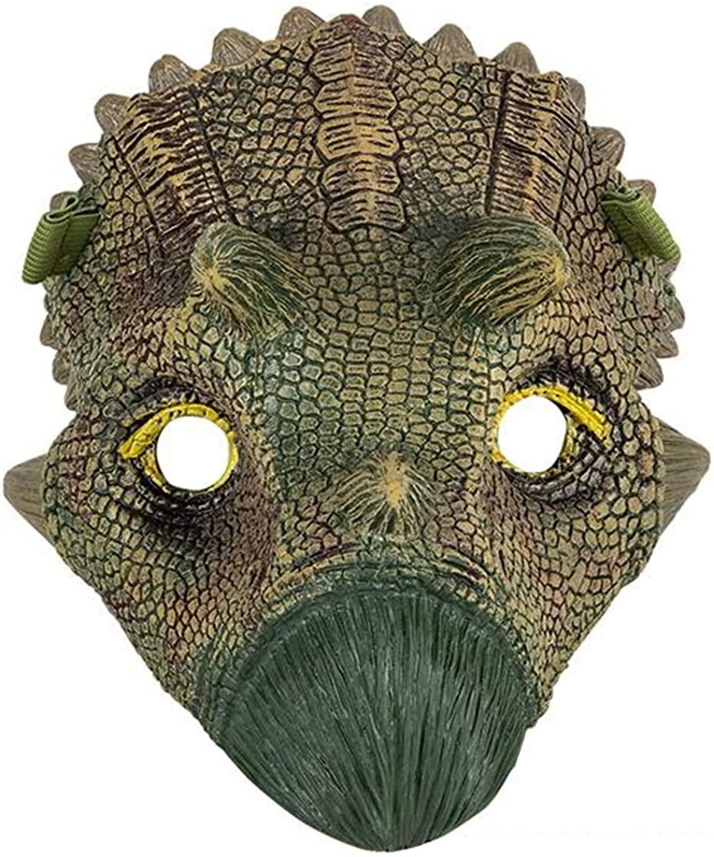 Dinosaur Mask for Kids, Jurassic World, Great for Halloween, Playtime, Cosplay