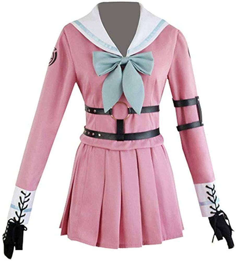 Yunbei Women Iruma MIU Cosplay Costume School Uniform Full Set Halloween