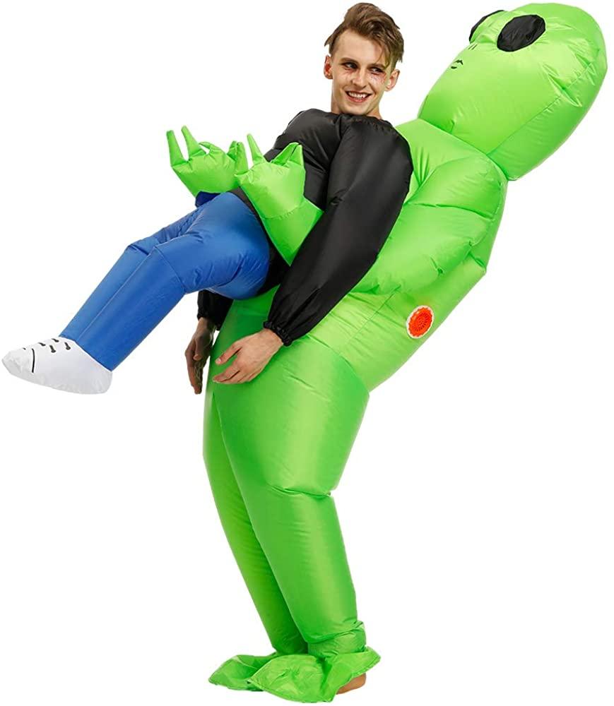 FENWOOH Alien Inflatable Costumes Fancy Costume Halloween Cosplay Fantasy Costume Adult/Kids