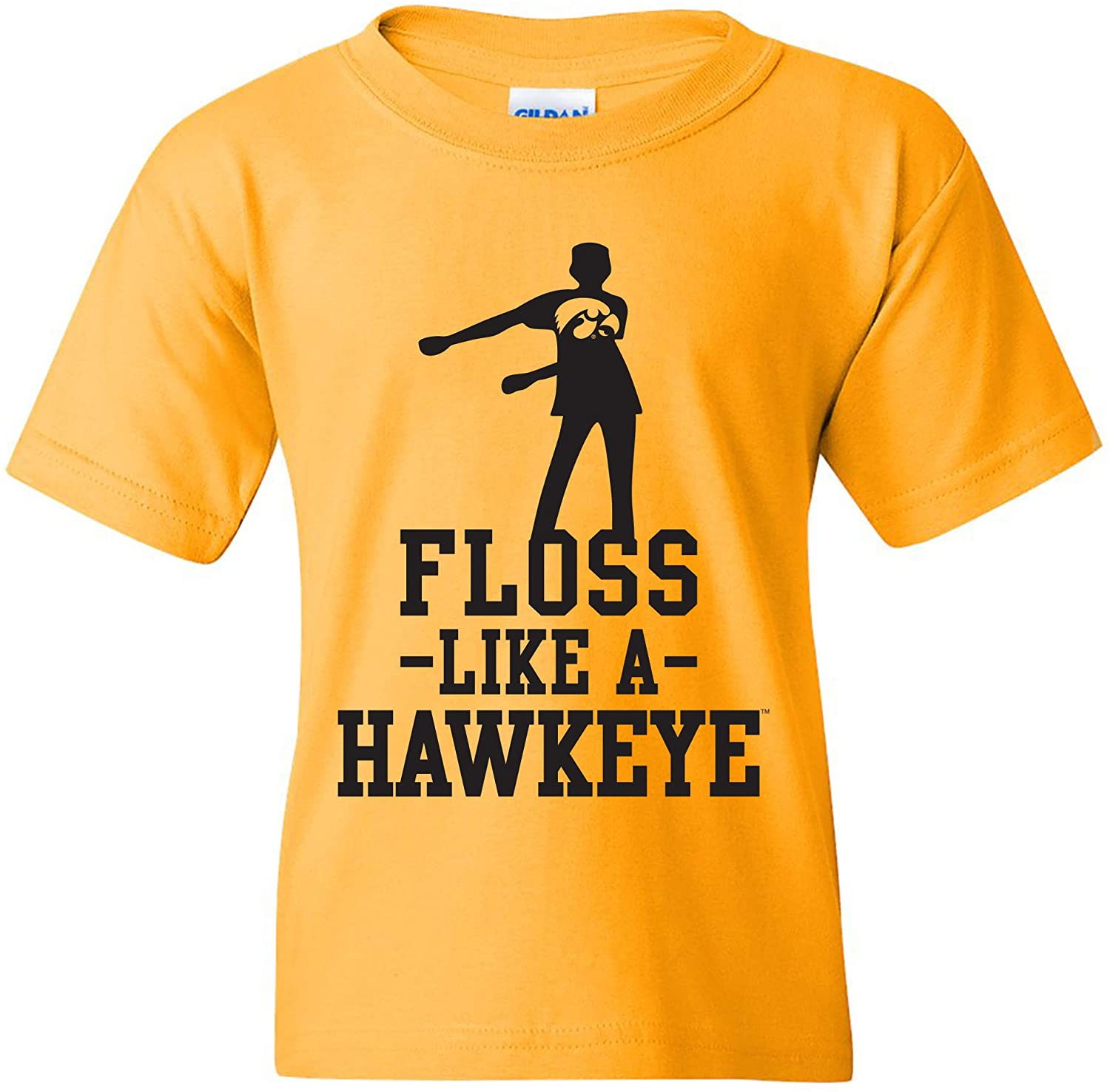 NCAA Floss Like a Mascot, Team Color Youth T Shirt, College, University