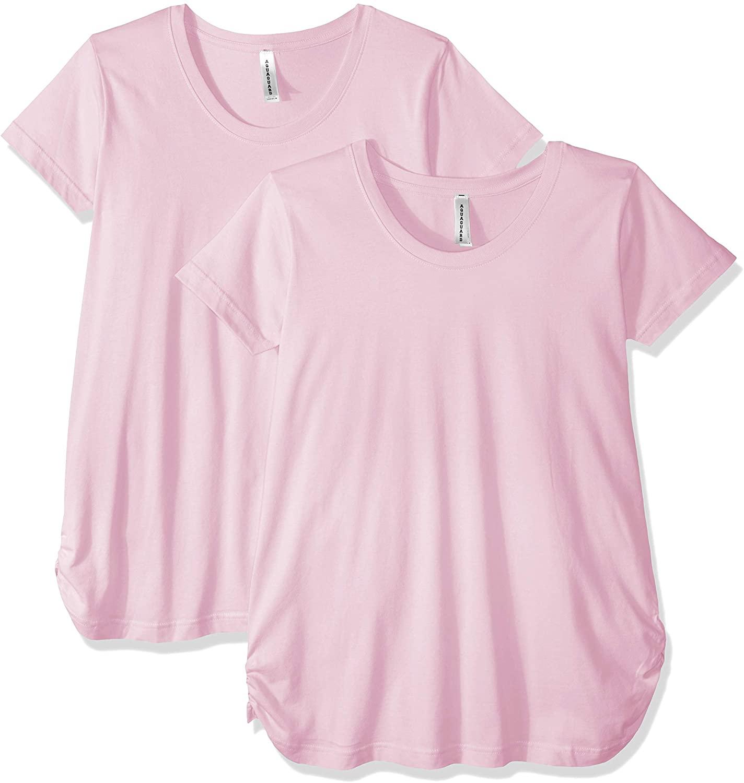 AquaGuard Women's Scoopneck Maternity T-Shirt-2 Pack