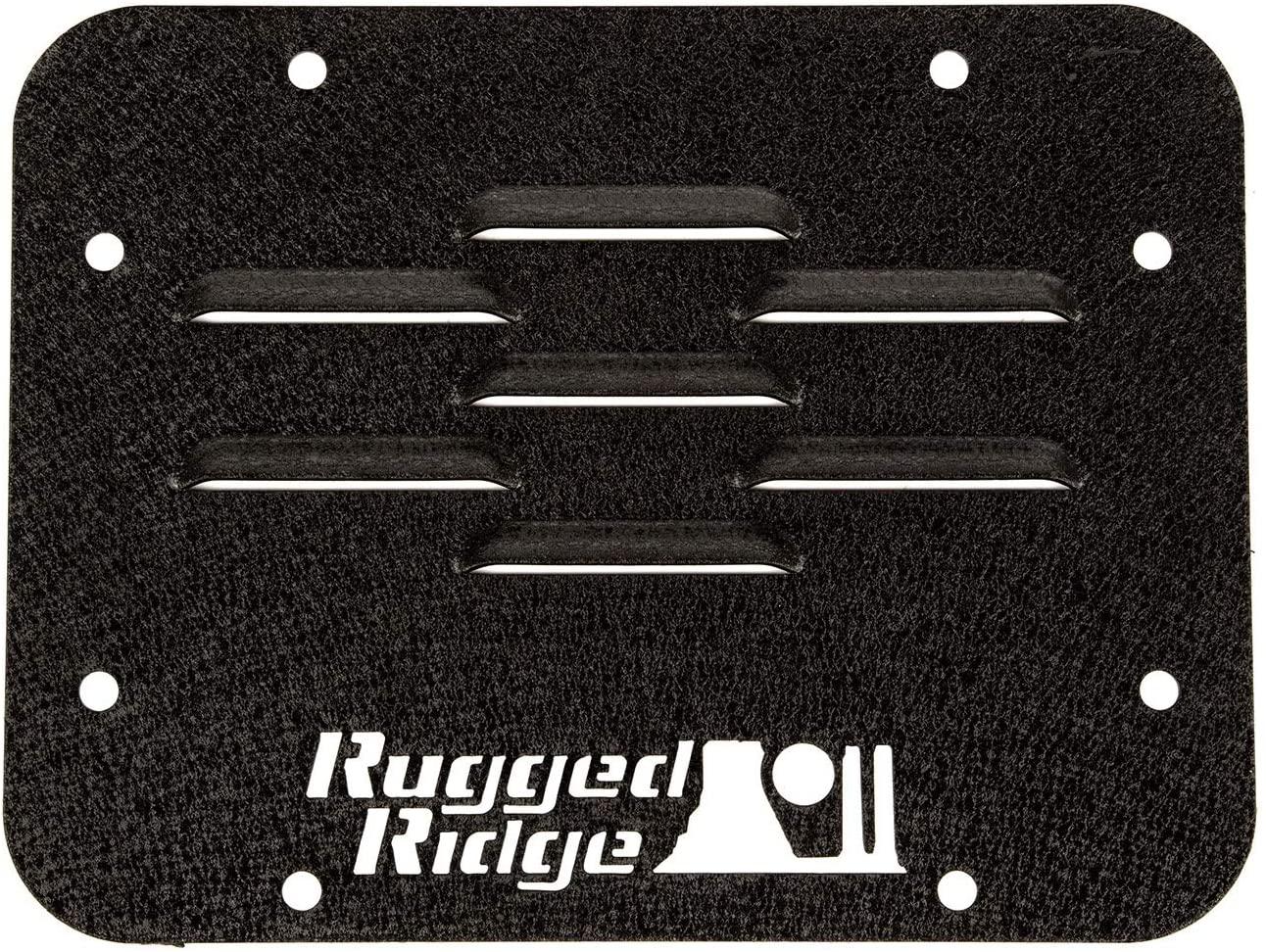 Rugged Ridge 11586.10 Tire Carrier Delete Plate for 2007-2018 Jeep Wrangler JK, 1 Pack