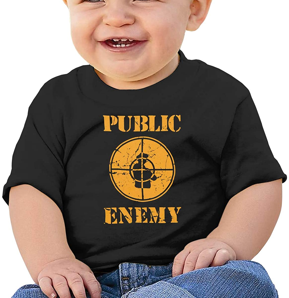 AP.Room Short-Sleeved Colorful Comfortable Shirt Public Enemy Baby T-Shirt