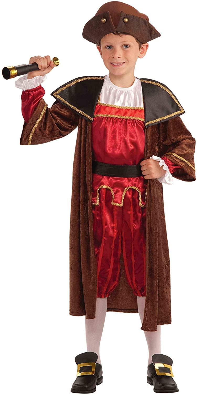 Forum Novelties Christopher Columbus Child Costume (S)