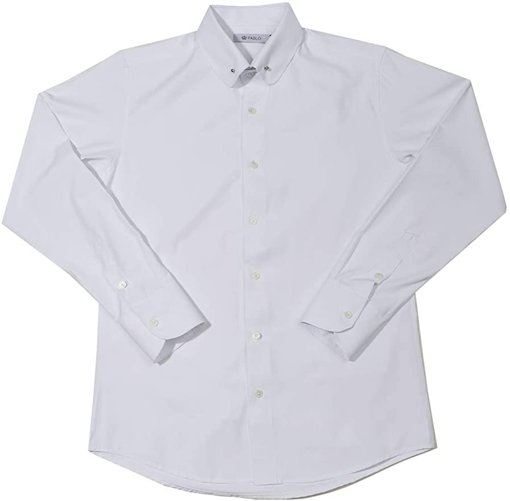 Pablo Men's Collar-Pin Dress Shirts