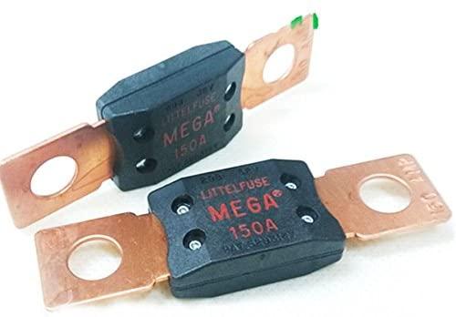 Woljay Bolt Down Auto Fuse 150A Time Delay 32V 298 Series, MEGA