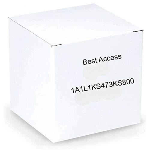 BEST Access Systems 1A1L1KS473KS800 Standard Blank L Keyway, Nickle Silver