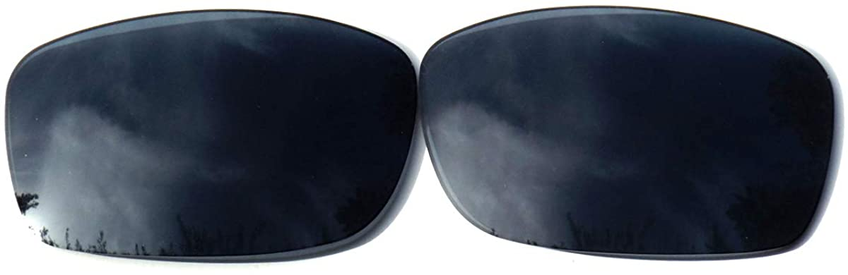 Galaxy Replacement Lenses For Oakley Fives Squared Black Color Polarized 100% UVAB