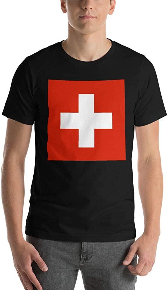 Flag of Switzerland Short-Sleeve Unisex T-Shirt