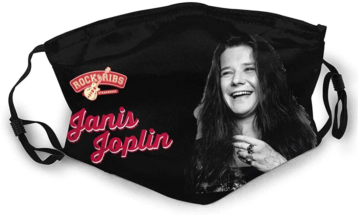 Janis Joplin Adult Outdoor Sports Windproof Dustproof Face Towel Headscarf Scarf Sunscreen