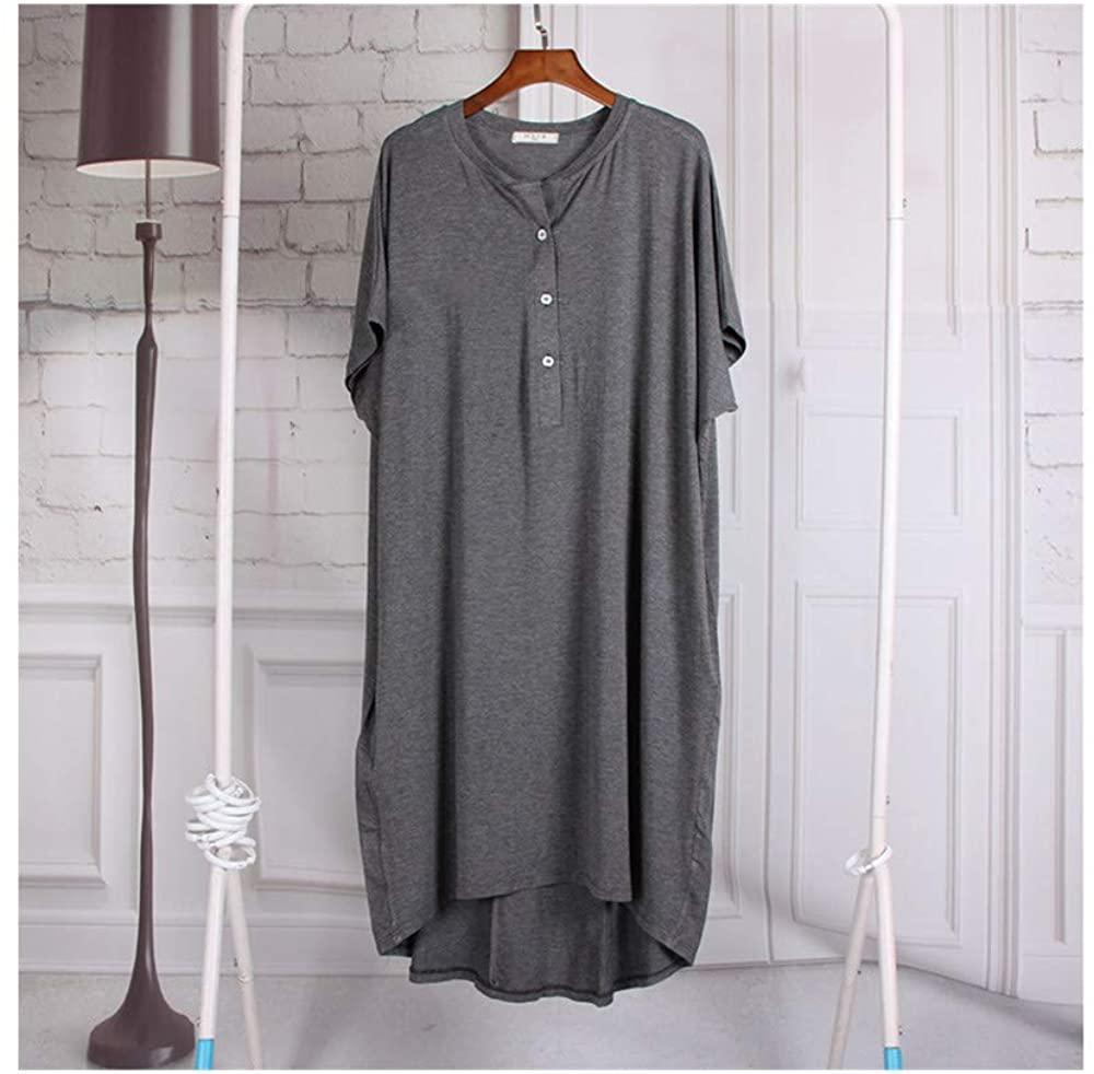 LXLDH Women Nightgowns Summer Nightwear Dresses