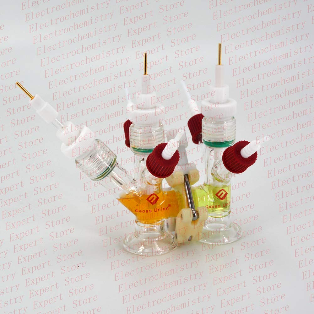 Small Volume H-Cell, Replaceable Membrane Electrolysis H-Cell(10ml)