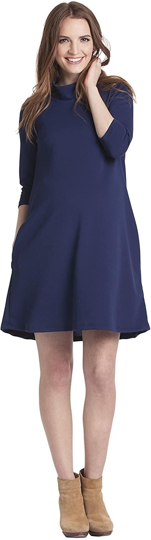 Lilac Clothing Women's Mock Swing Maternity Dress