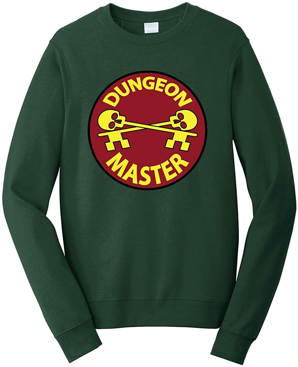 Tenacitee Unisex Dungeon Master Badge Sweatshirt
