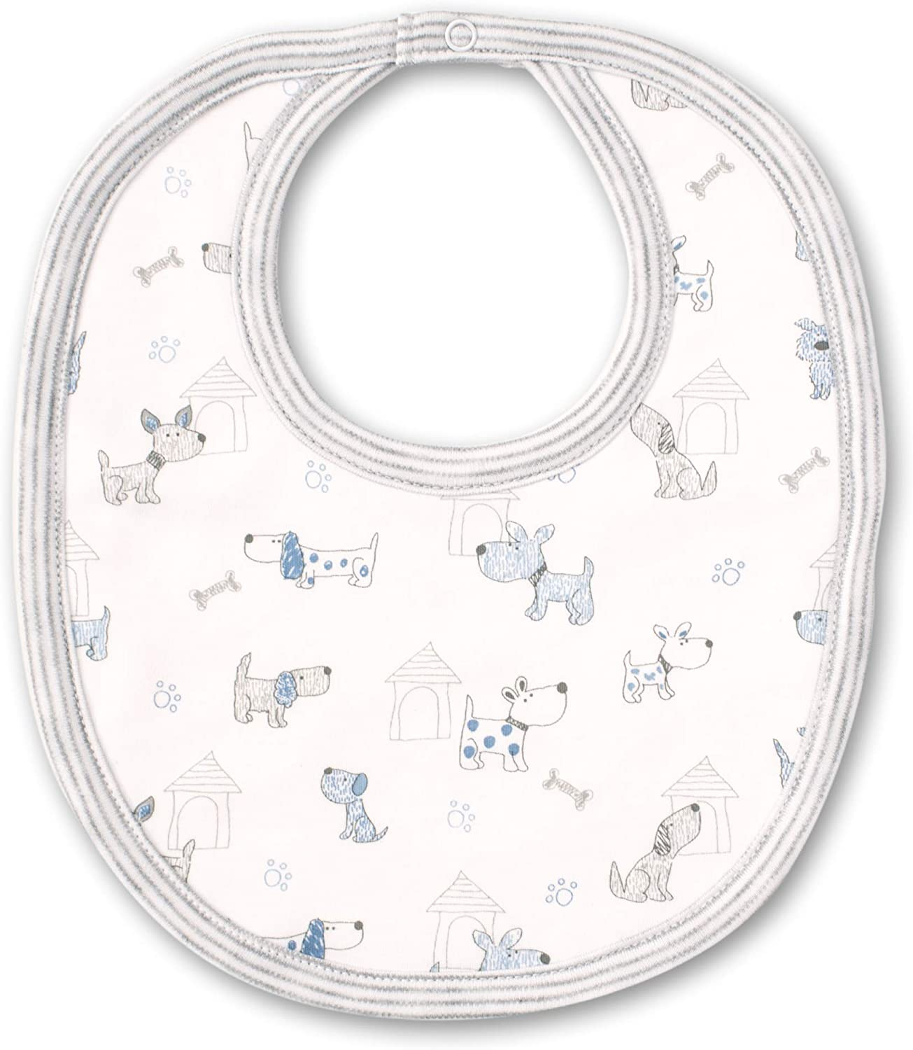 Kissy Kissy Baby-Boys Infant Pint-Size Pups Print Bib