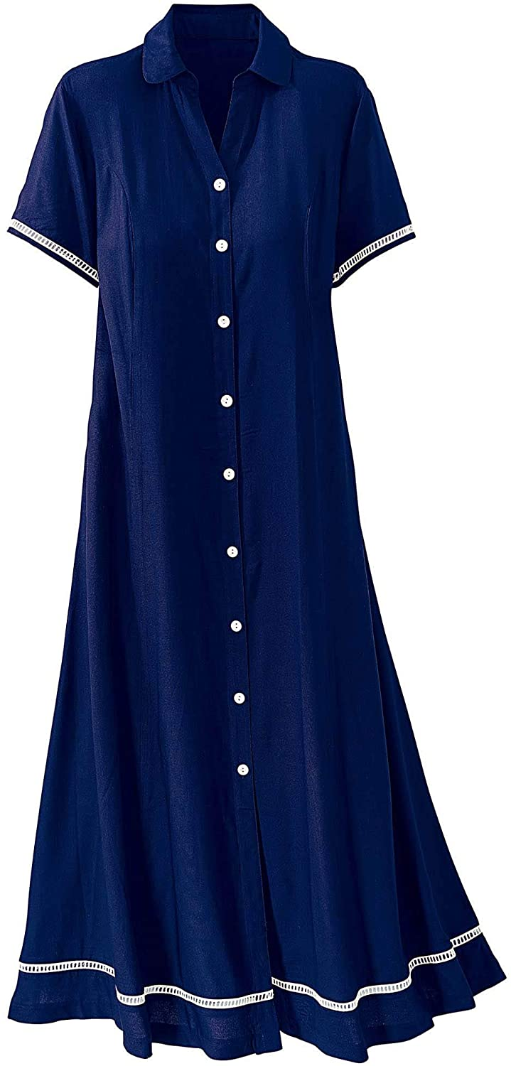 National Button-Front Day Dress