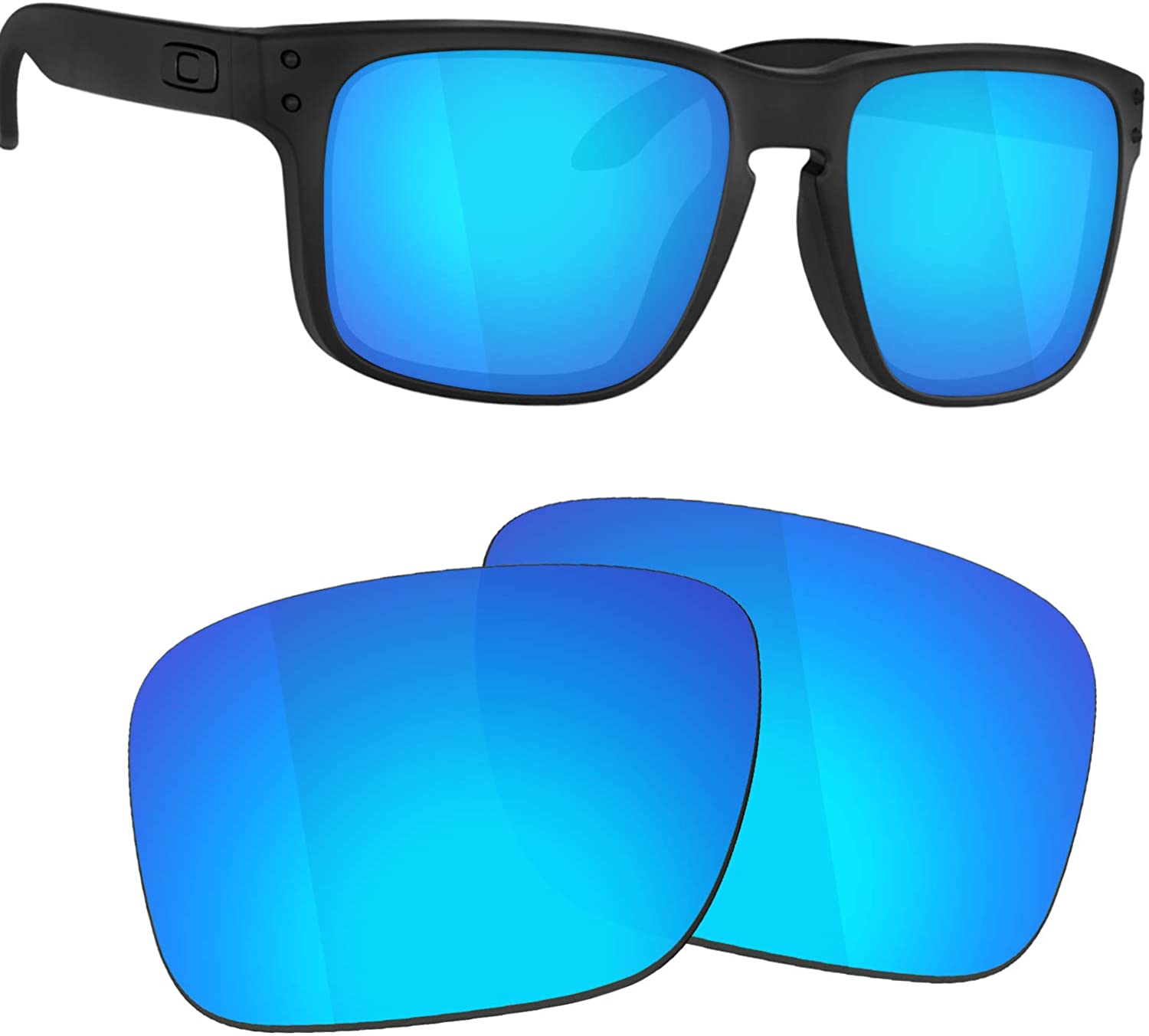 Guarda TRUE POLARIZED Replacement Lenses for Oakley Sliver OO9262 Sunglasses - Blue Mirrored
