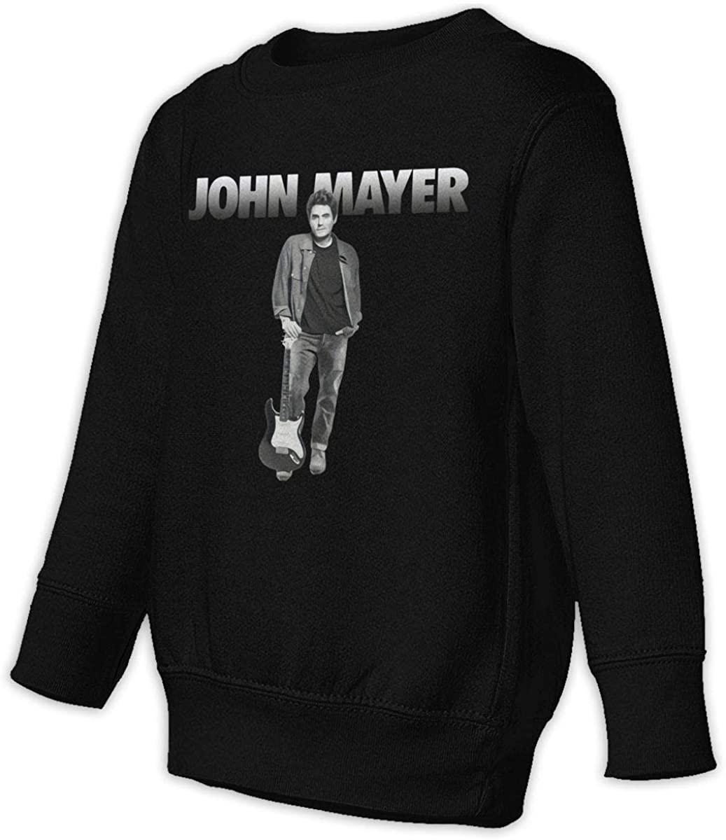 John Mayer Tour 2019 Unisex Sweatshirt Youth Boy and Girls Pullover Sweatshirt Black