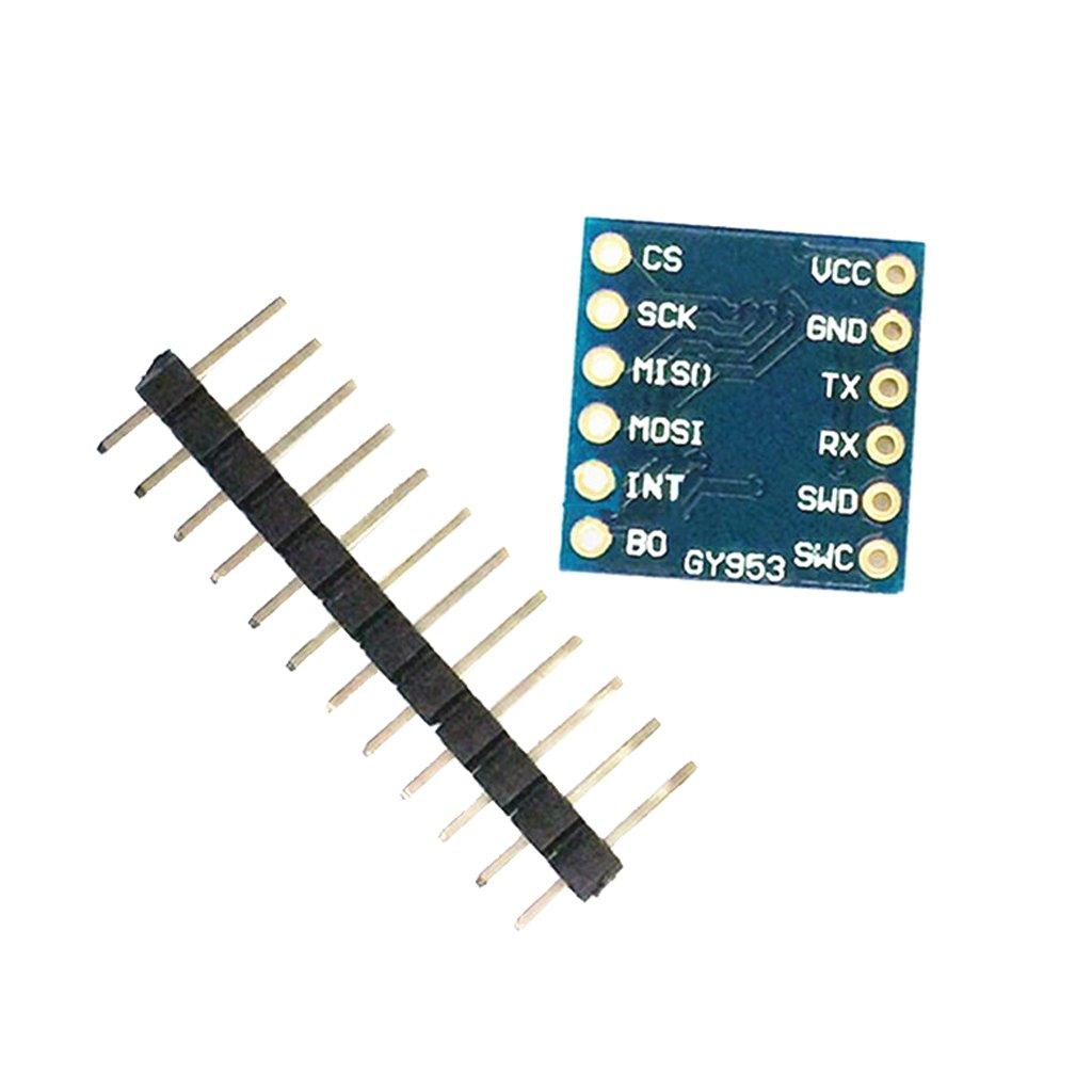 SDENSHI GY953 AHRS 9- Compass Module Sensor Tilt-compensate Serial Port SPI