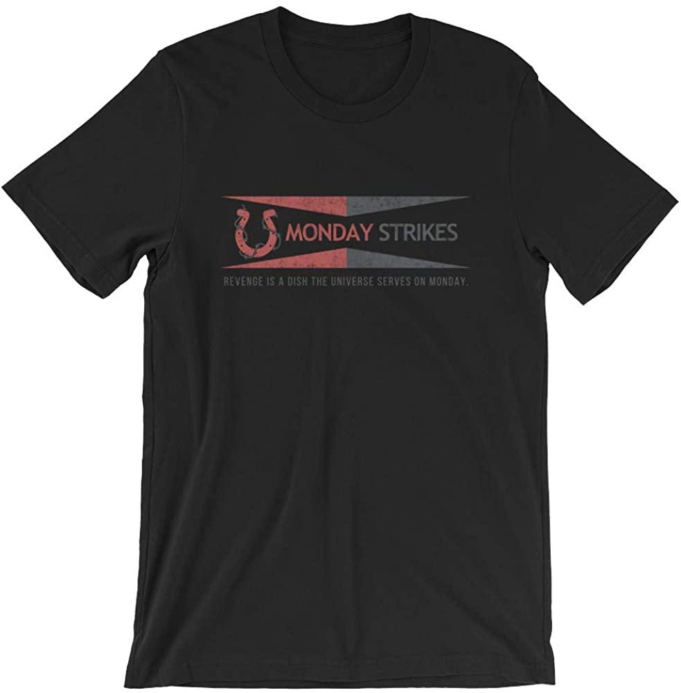Monday Strikes Short-Sleeve Unisex T-Shirt
