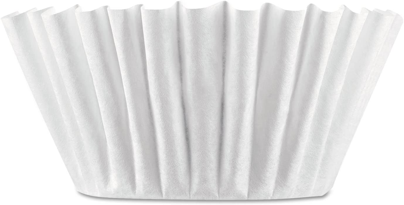Coffee Filters, 8/12-Cup Size, 100/Pack