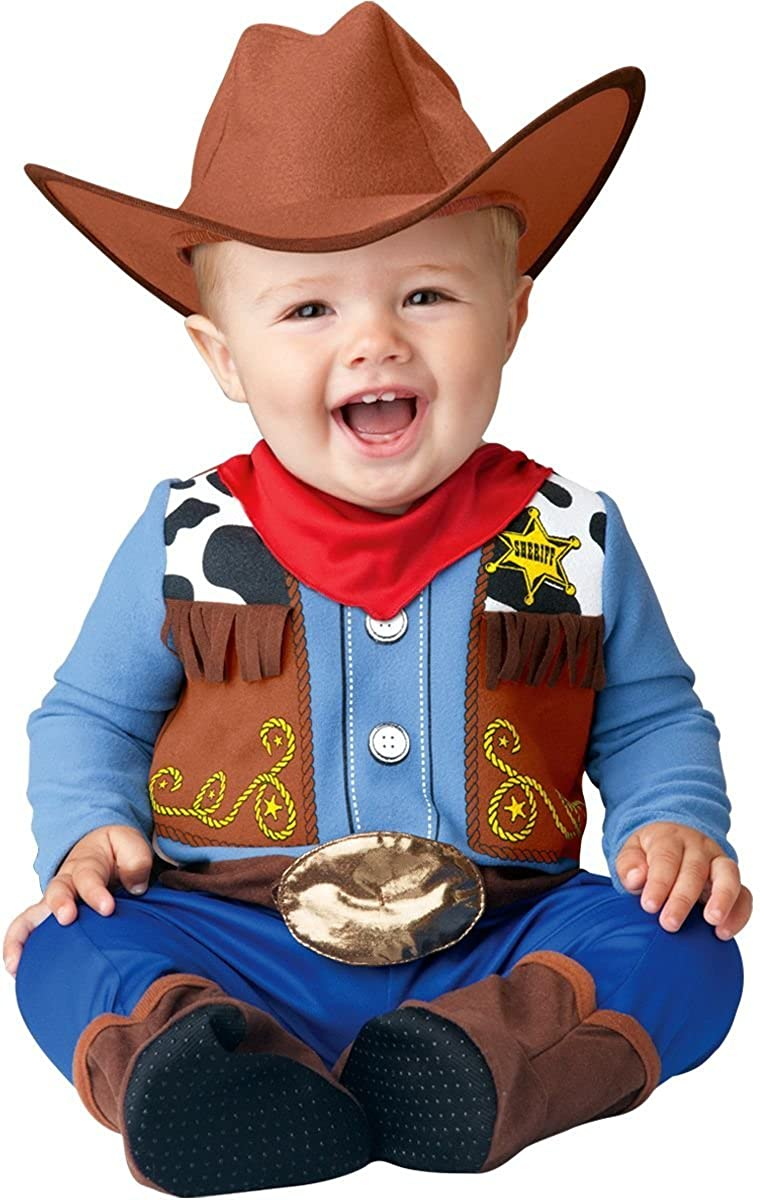 InCharacter Wee Wrangler Infant/Toddler Costume
