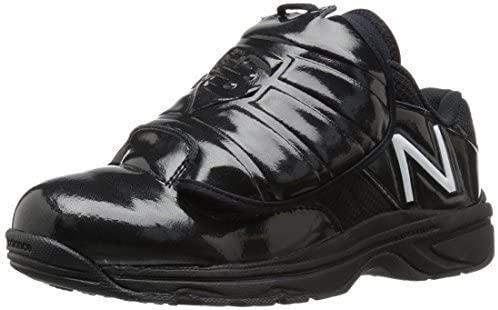 New Balance Mens 460 V3 Umpire Baseball Shoe, Mlb Black/White, 8 D US
