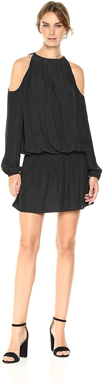 Lauren Cold Shoulder Long Sleeve Mini Dress