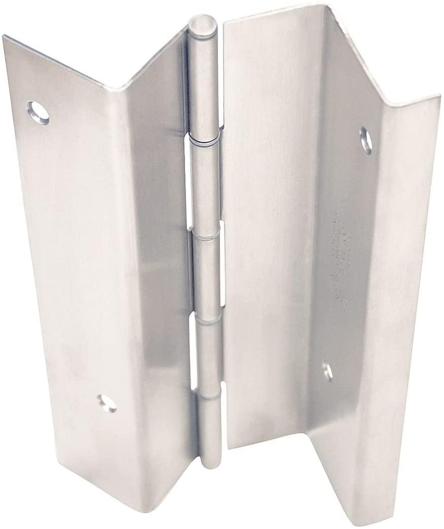 Markar - HG329-001-630-83-1/8 x 4-1/2 Butt Hinge with Dull Stainless Steel Finish, Full Mortise Mounting