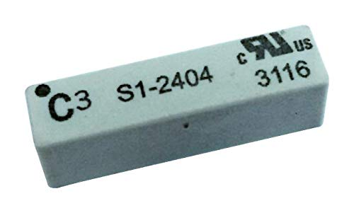 S1-2404M - Reed Relay, 1FormA, SPST-NO, 24 V, S1 Series, Through Hole, 1 kohm, 1 A (Pack of 2) (S1-2404M)