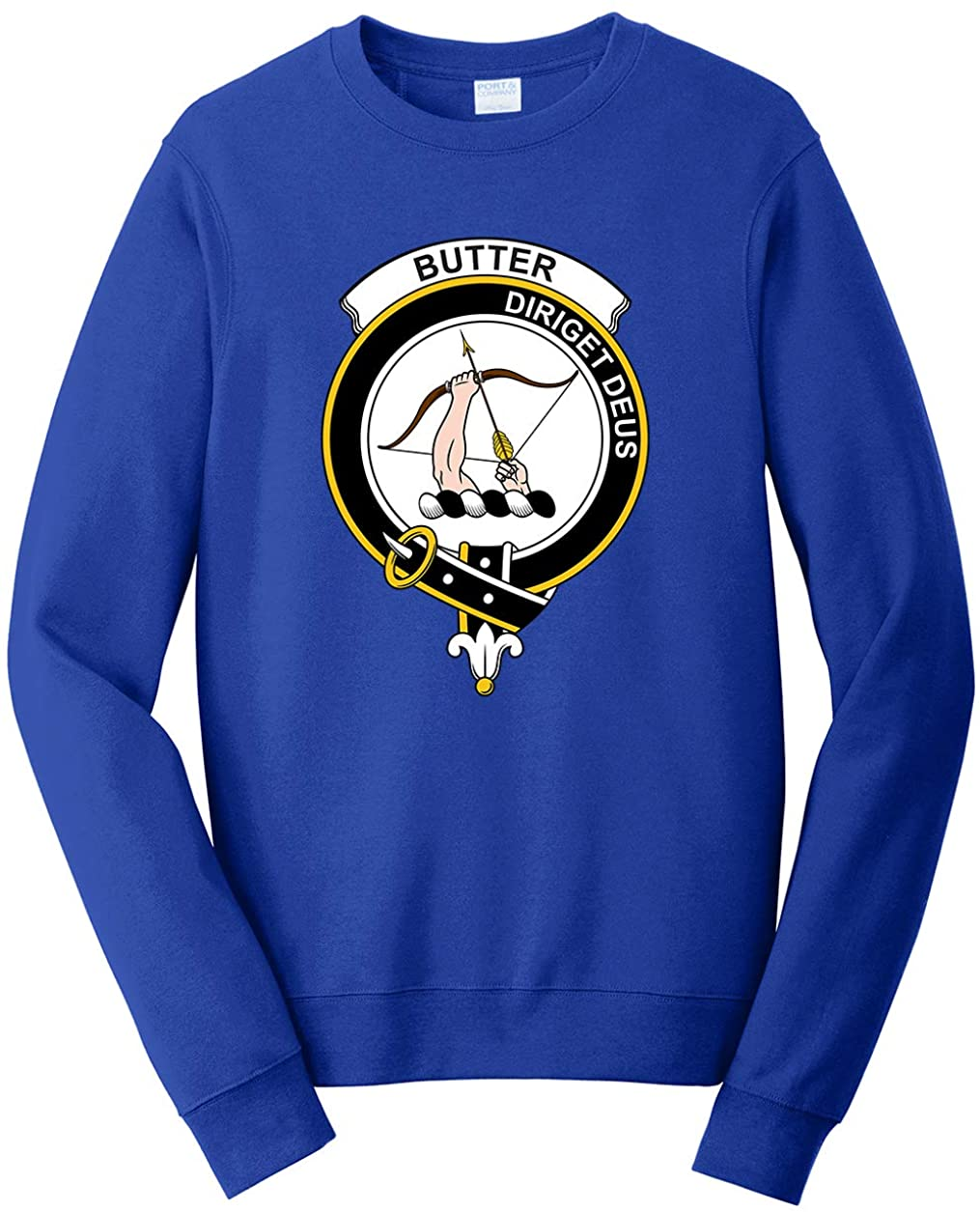 Tenacitee Unisex Scottish Clan Crest Badge Butter Sweatshirt