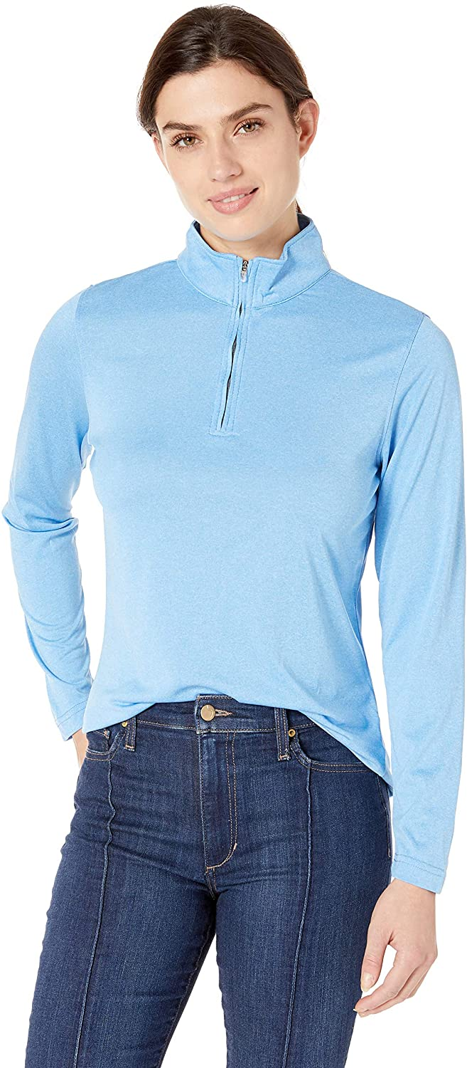 UltraClubs Women's Cool & Dry Heathered P
