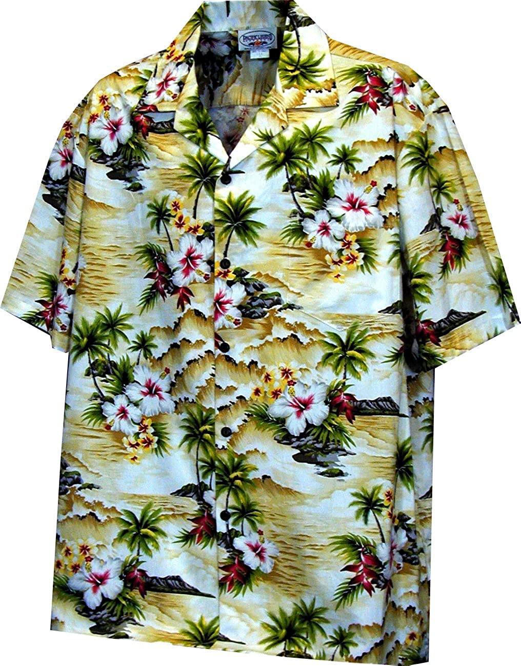 Pacific Legend Boys Diamond Head Ocean Wave Shirt