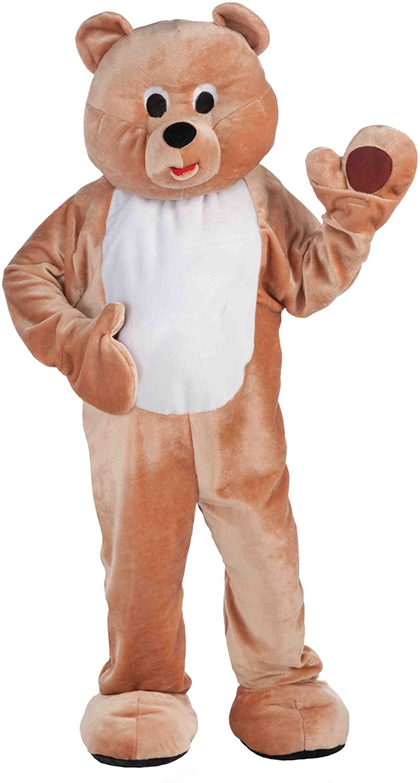 Forum Novelties Mens Deluxe Plush Animal Mascot Costume